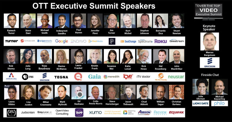 The Love Destination CEO speaking at the OTT Executive Summit in New York